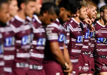 Manly Warringah Sea Eagles v Gold Coast Titans Brookvale