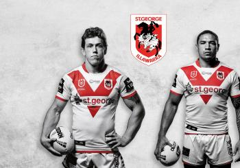 St George Illawarra Dragons v South Sydney Rabbitohs Wollongong