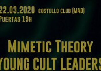 Mimetic Theory + Young Cult Leaders + Bone Dies live in Costello Club en Madrid