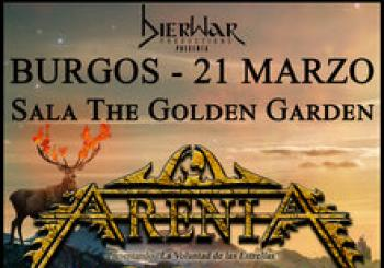 ARENIA + EVETH - Burgos, Sala The Golden Garden