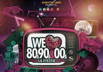 We Love 80s 90s y 00s en Jaén