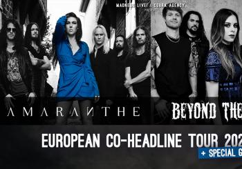 Amaranthe + Beyond the Black en Barcelona