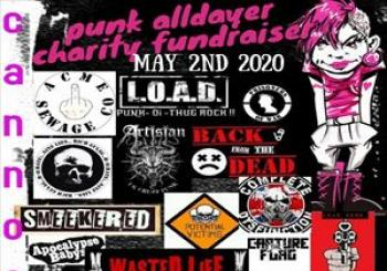 Entradas Cannock calling charity punk alldayer en The Station
