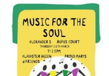 Entradas Music for the Soul en Alexanders Live