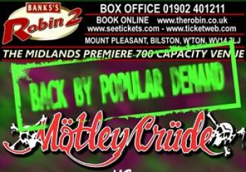 Entradas Motley Crude Poizon en Corporation