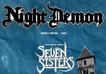 Entradas NIGHT DEMON SEVEN SISTERS GLASGOW en Audio