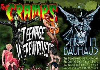 Entradas Teenage WerewolvesCramps tributeShes In Bauhaus en The Slade Rooms