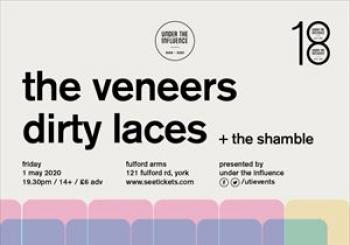Entradas The Veneers Dirty Laces The Shamble en The Fulford Arms
