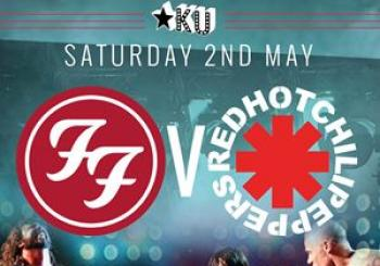 Entradas FU Fighters VS Uk Chili Peppers en Ku Bar