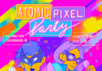 ATOMIC PIXEL PARTY - Fiesta, Anime y Videojuegos - Barcelona