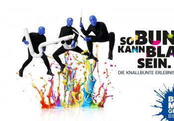 BLUE MAN GROUP in en Berlin
