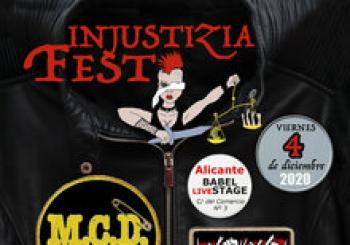INJUSTIZIA FEST . ALICANTE (MCD + INVITADOS)