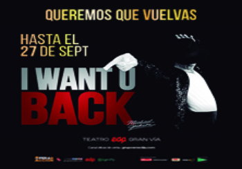 4x3 I Want U Back, homenaje a Michael Jackson - Madrid
