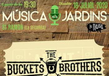 The Buckets Brothers - Música als Jardins en Sant Ramon