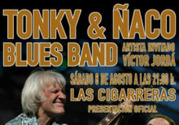 TONKY & ÑACO BLUES BAND en Alicante