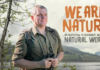 We Are Nature with Ray Mears en Aberystwyth