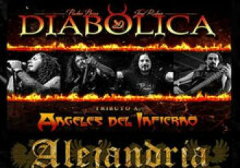 Doble tributo Angeles del Infierno y Sangre Azul en madrid