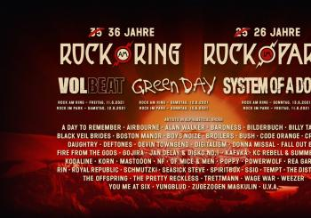Rock im Park 11.-13.06.2021 | Weekend Festival Ticket Green Camping Nürnberg