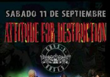 Attitude For Destruction - Guns N' Roses Tribute en la 5ª Edición de Rock Against Cancer de Torrevieja