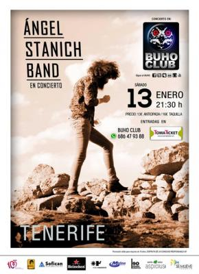 Angel Stanich Band - Tenerife