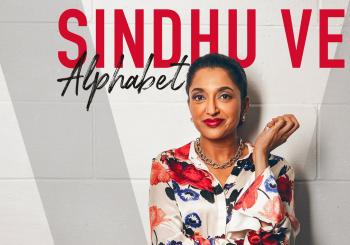 Sindhu Vee: Alphabet en Stockton on Tees