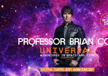 Professor Brian Cox Horizons World Tour en Nottingham