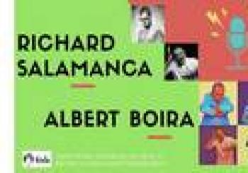 Richard Salamanca y Albert Boira en Madrid