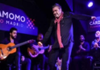 Antonio Canales en el Tablao flamenco Cardamomo en Madrid