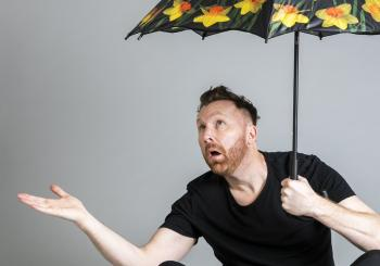 Jason Byrne - Audience Precipitation en Cambridge