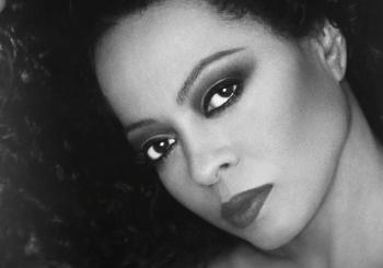 Diana Ross en London
