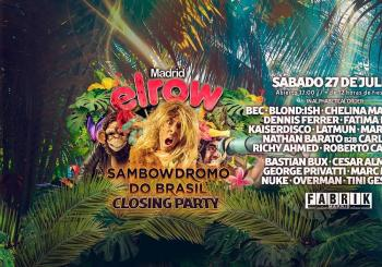 elrow Closing Party: Sambowdromo Do Brasil en Fabrik en Humanes de Madrid