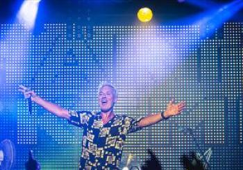 Martin Kemp Back To The 80s Party en Concorde 2
