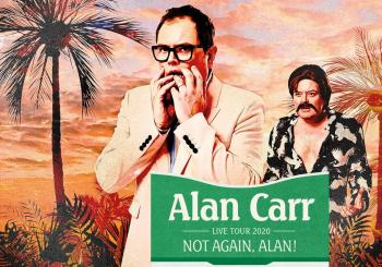 Alan Carr - Not Again, Alan! en Dublin