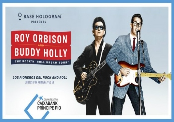 Roy Orbison & Buddy Holly en Madrid