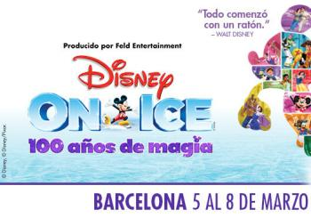 Disney On Ice - 100 años de magia en Barcelona