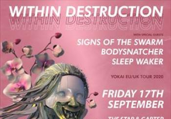 Within Destruction Manchester en The Star and Garter