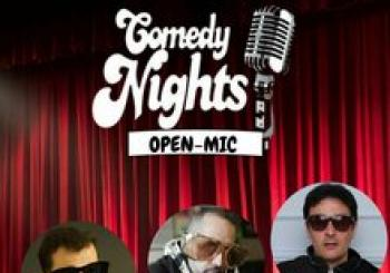 COMEDY NIGHTS - OPEN MIC en Madrid