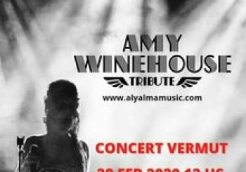 Amy Winehouse Tribut. Aly Alma Music en Terrassa