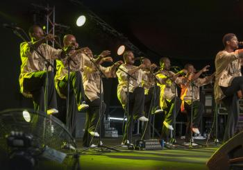 Ladysmith Black Mambazo en Edinburgh