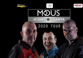 Modus Icons of Darts 2020 Tour en Bedford