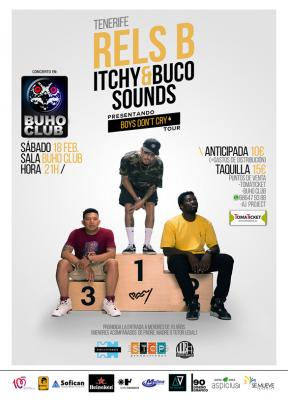 Rels B Itchy & Buco Sounds. Tenerife