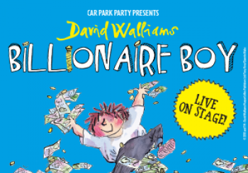 David Walliams Billionaire Boy Live On Stage en Newbury Racecourse