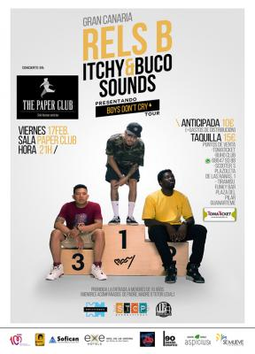 Rels B Itchy & Buco Sounds. Gran Canaria