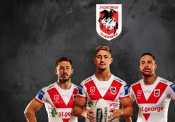 St. George Illawarra Dragons v South Sydney Rabbitohs Wollongong