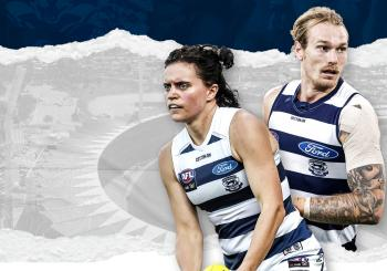 Geelong Cats v Gold Coast SUNS en South Geelong
