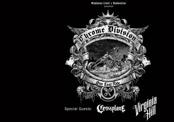 CHROME DIVISION + Crossplane + Virginia Hill en Barcelona