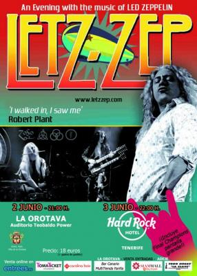 LETZ ZEP - WORLD TOUR17 Hard Rock Tenerife