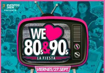 Entradas We Love 80s & 90s en Almería