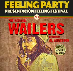 The Original Wailers featuring Al Anderson Tenerife