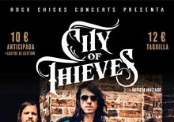 CITY OF THIEVES @ Rocksound Barcelona